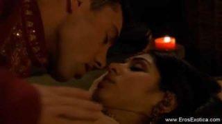 印度情侶的超浪漫性交