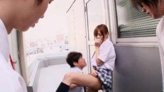 女子校生要跟男教師3P了 – 瑠川里菜(瑠川莉娜)